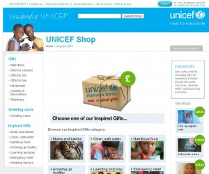 Inspired Gifts from UNICEF