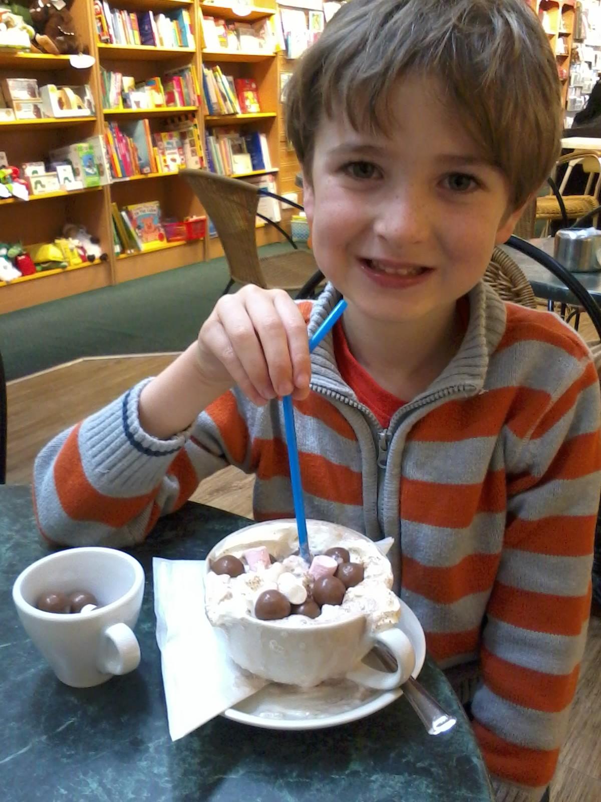 I could see Kieran thoroughly enjoying exploring London!