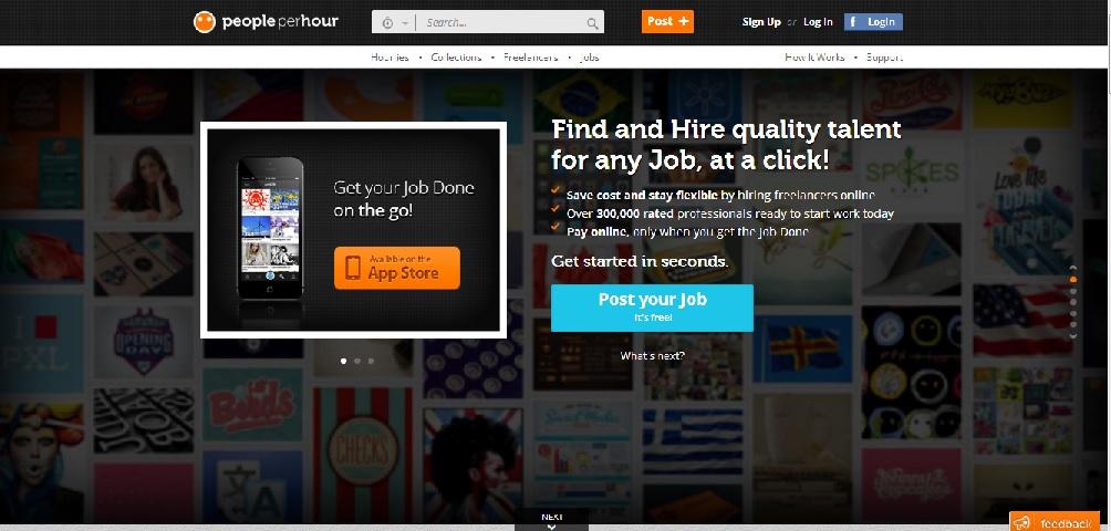 mejores paginas buscar empleo trabajar freelance peopleperhour