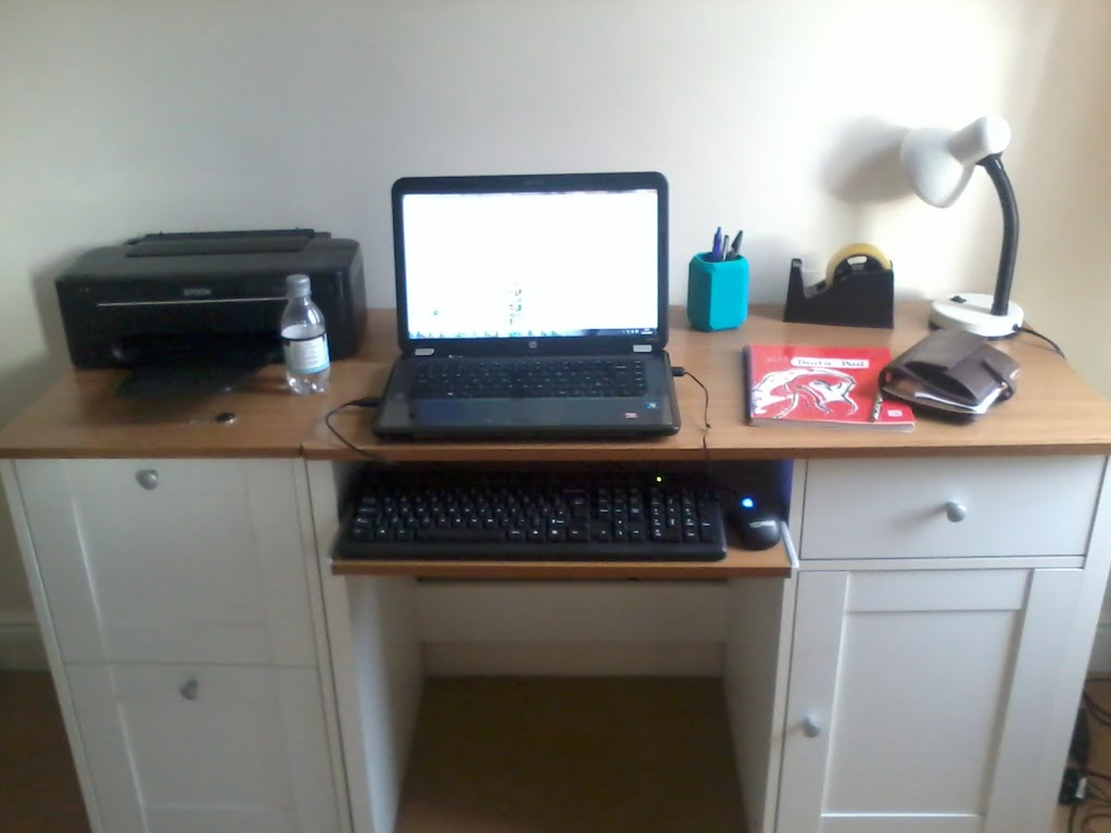 Workspace before