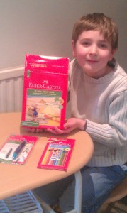Faber Castell and Kieran