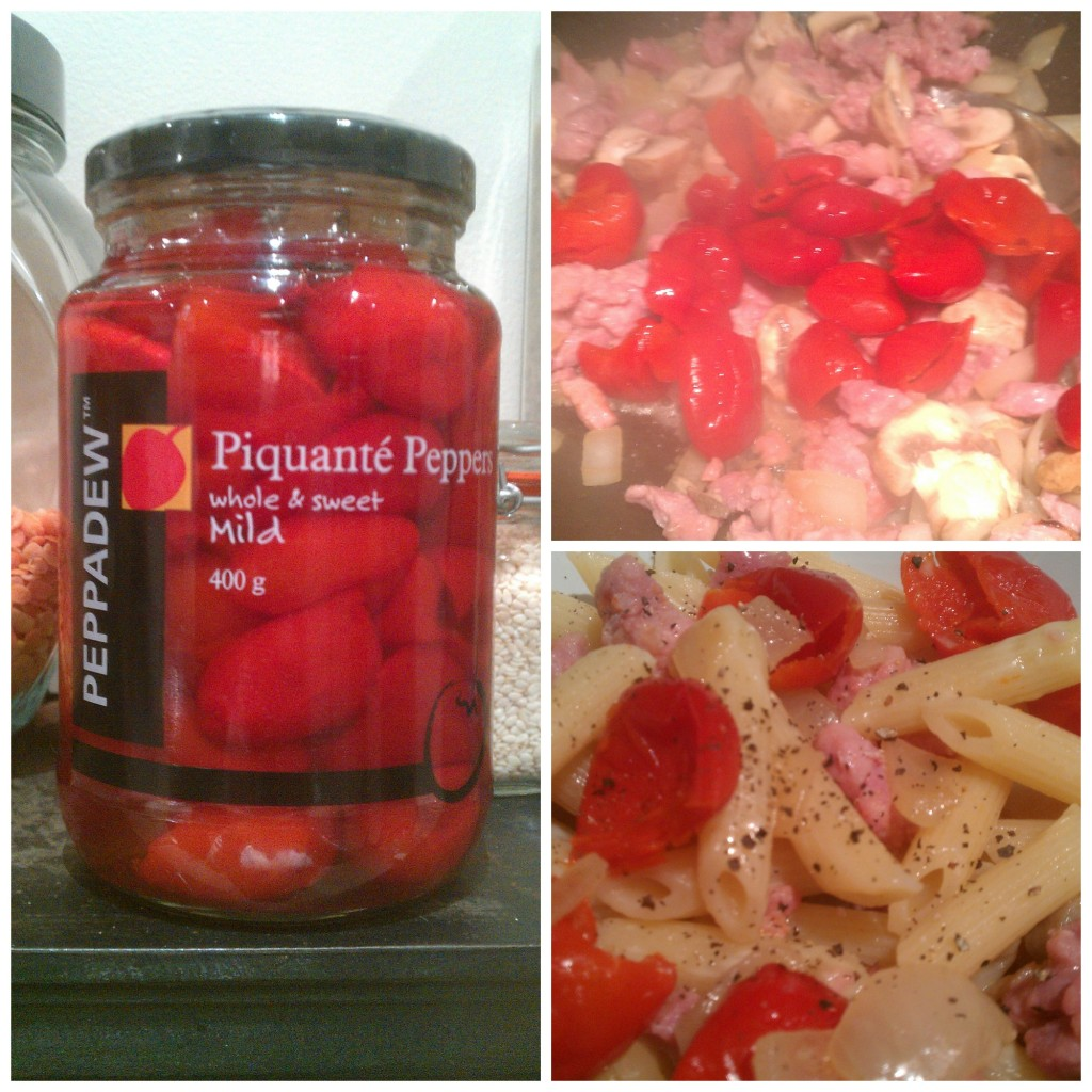 With Peppadew Piquante Peppers