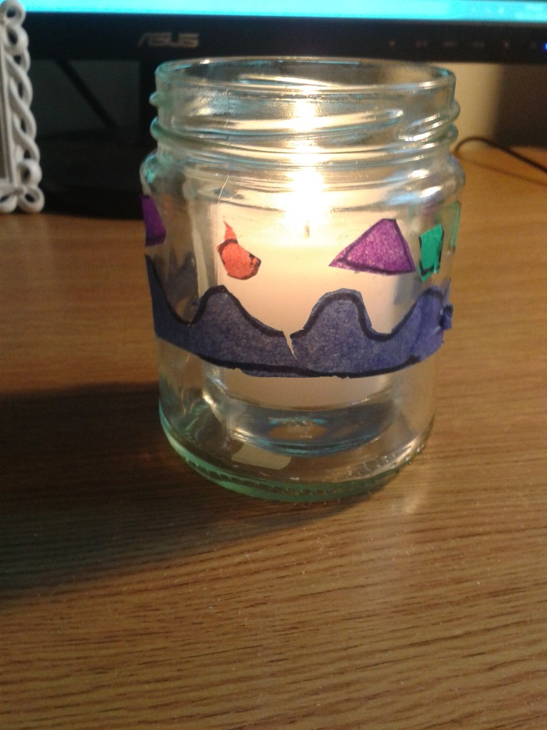 Work Candle