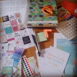 Hobbies, papercrafy, Erin Condren