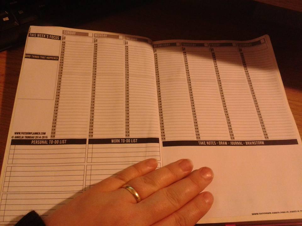 Passion planner, planner addict, organisation, time management