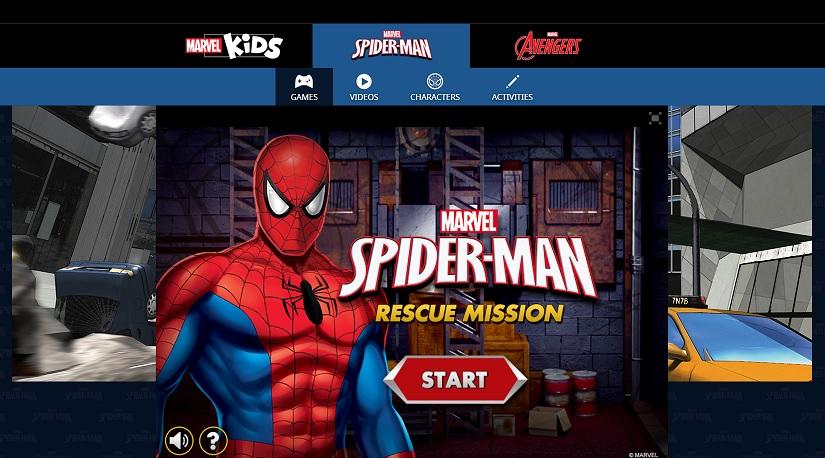 Spiderman rescue