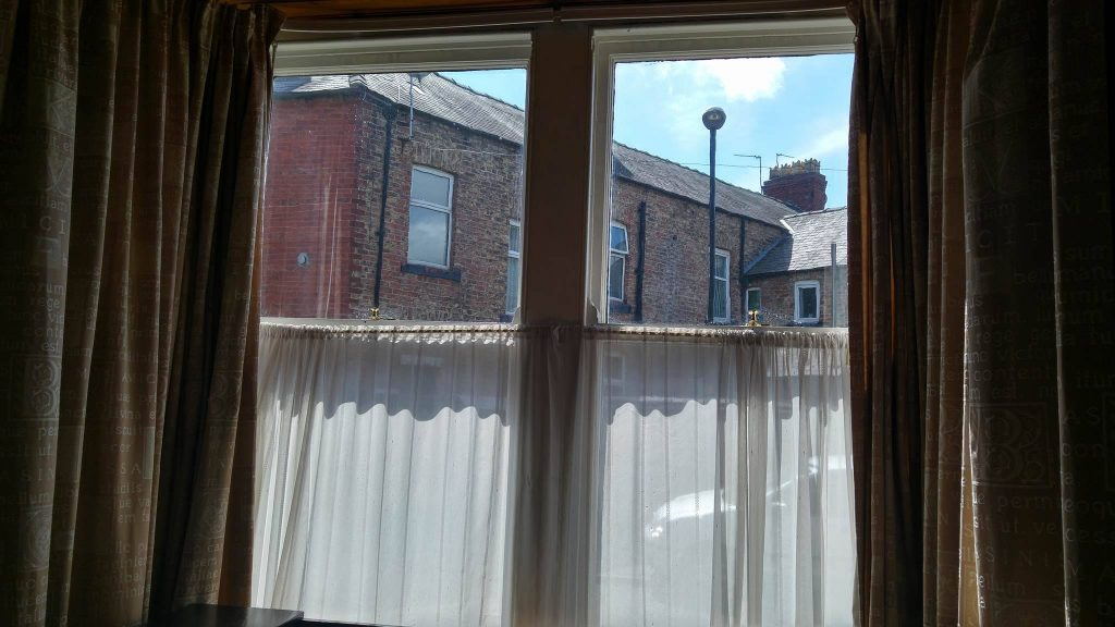Overlooked, street-side, not looking for blinds and most definitely not a net curtain fan!